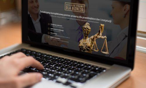 Nowa strona Kancelarii Prawnej OPTIMA